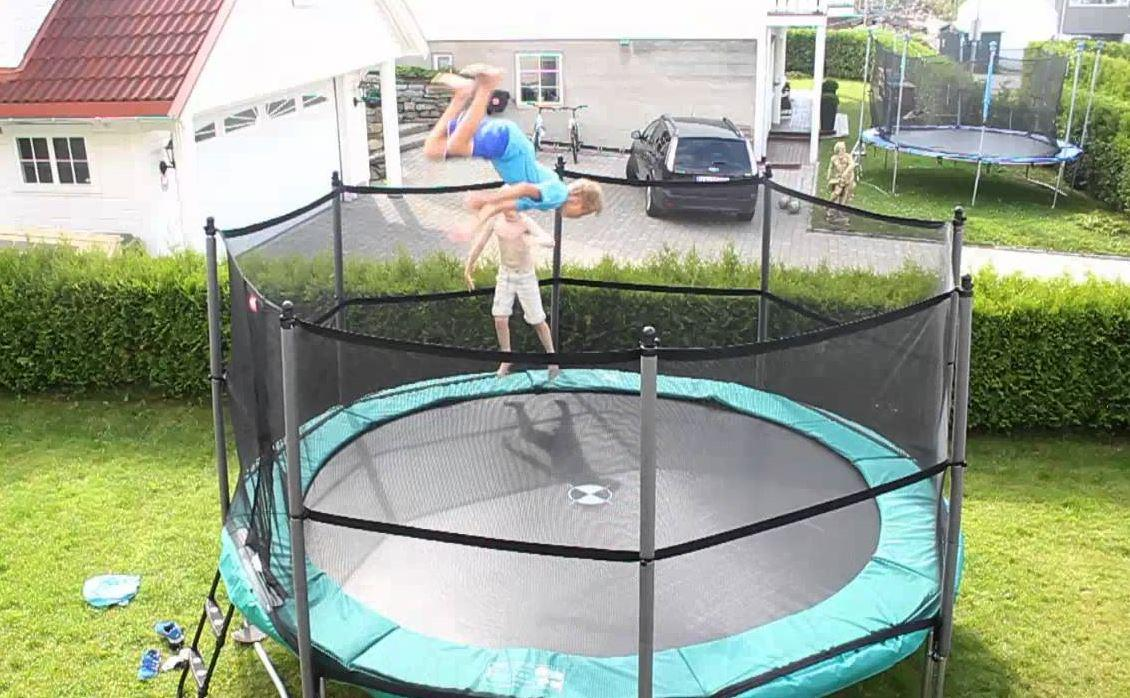 Spring trampolin til haven